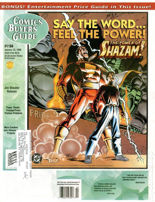 Comics Buyers Guide Vol 1 1104