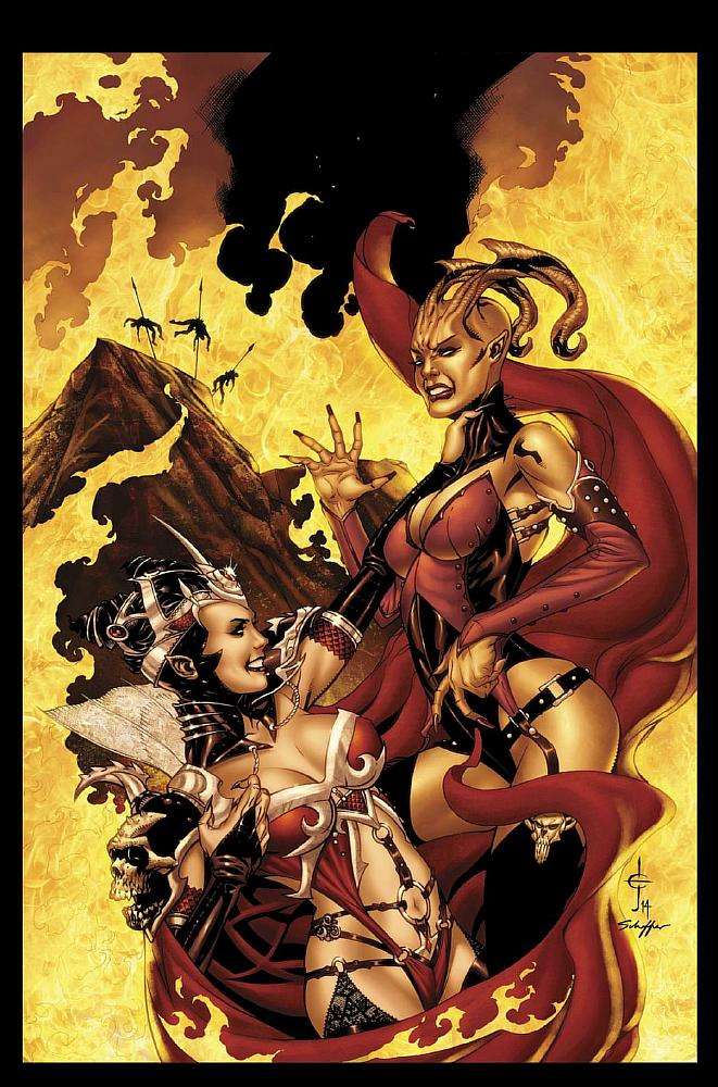 Grimm Fairy Tales Presents Inferno: Rings of Hell Vol 1 1