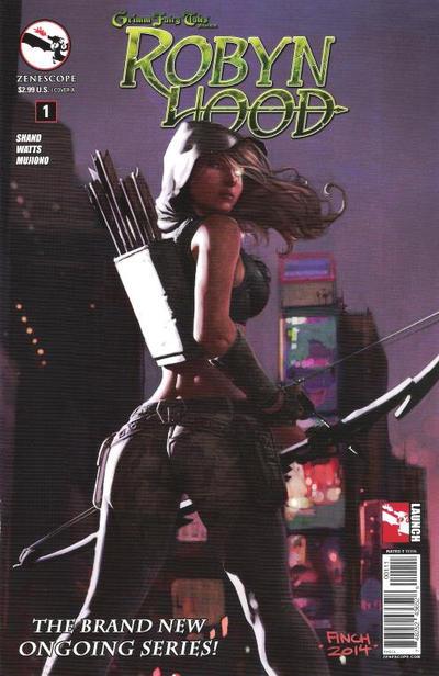 Grimm Fairy Tales Presents Robyn Hood Vol 2 1
