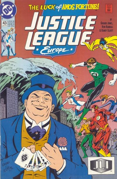 Justice League Europe Vol 1 43