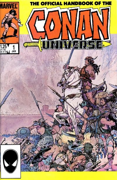 Official Handbook of the Conan Universe Vol 1