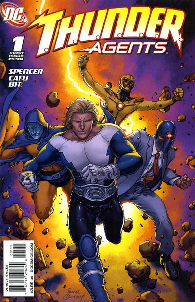 T.H.U.N.D.E.R. Agents Vol 3
