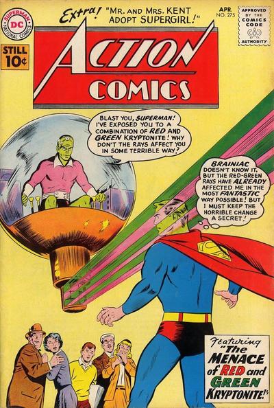 Action Comics Vol 1 275