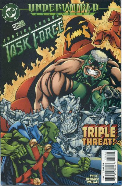 Justice League Task Force Vol 1 30