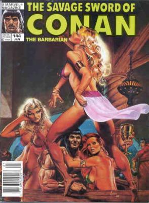 Savage Sword of Conan Vol 1 144