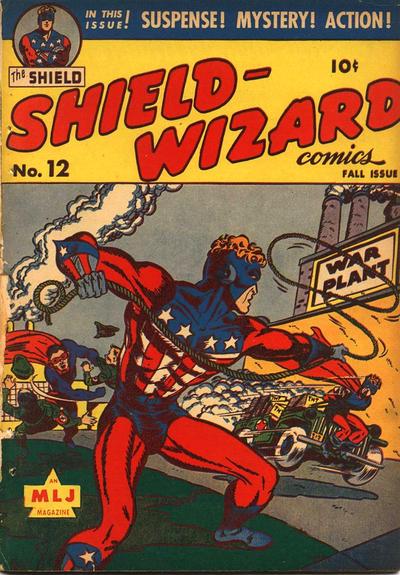 Shield-Wizard Comics Vol 1 12