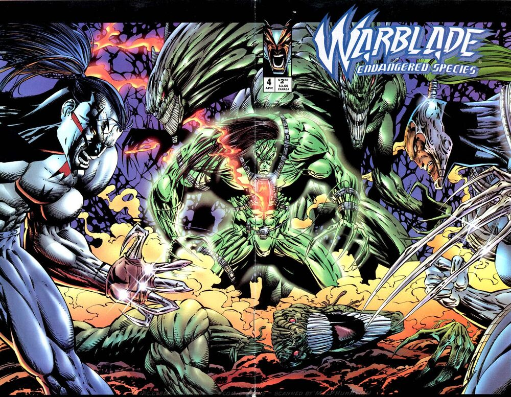 Warblade: Endangered Species Vol 1 4