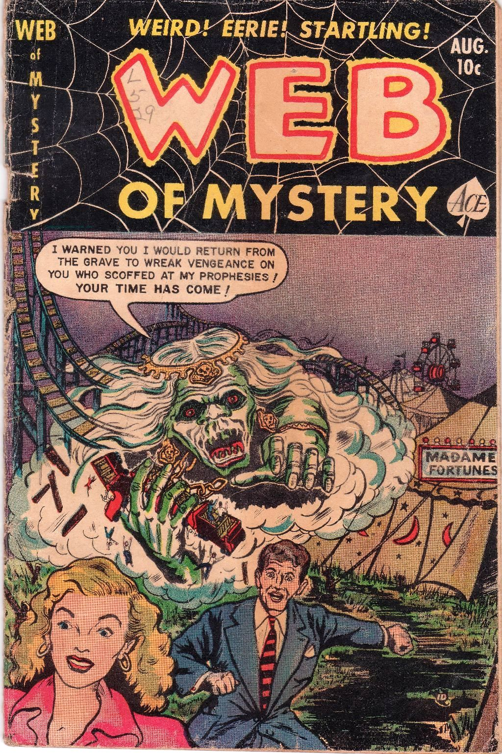Web of Mystery Vol 1 12