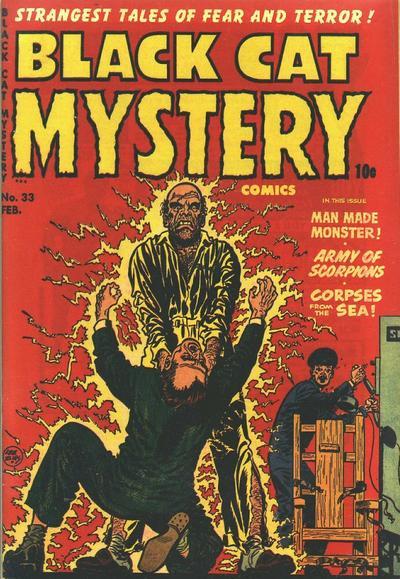 Black Cat Comics Vol 1 33