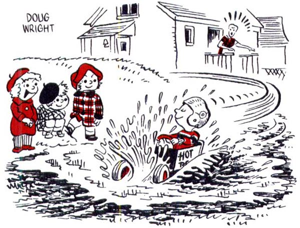 Doug Wright (cartoonist)