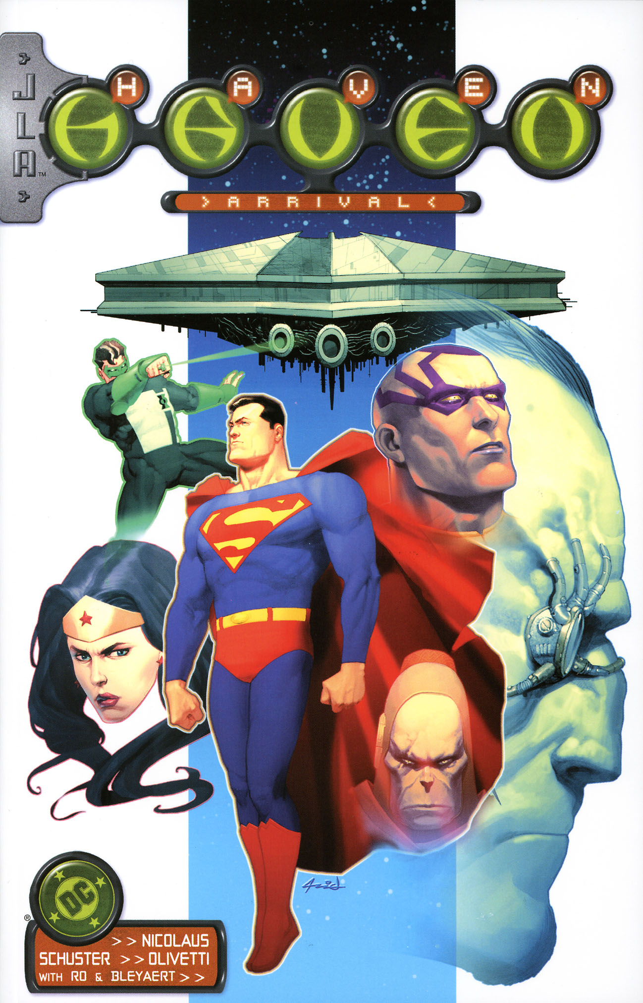 JLA/Haven: Arrival Vol 1 1