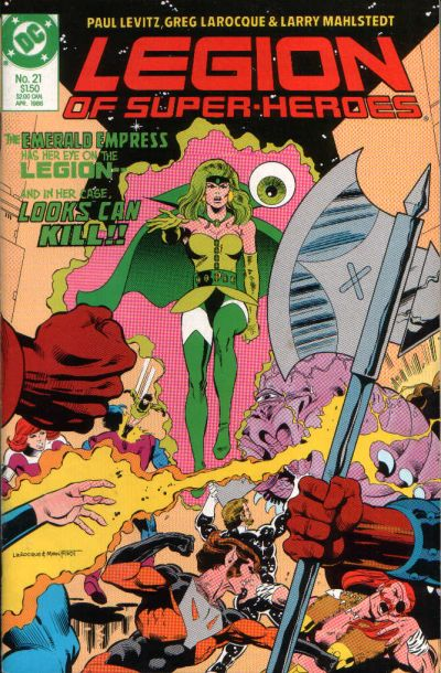 Legion of Super-Heroes Vol 3 21