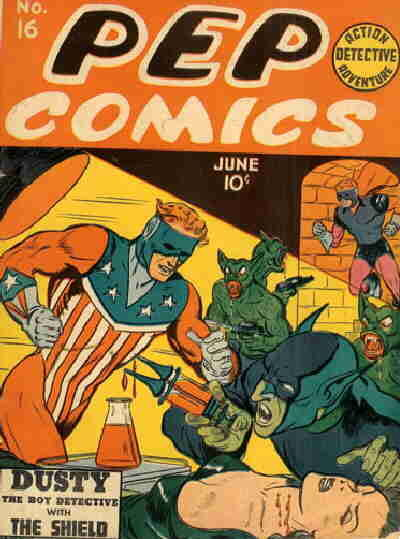 Pep Comics Vol 1 16