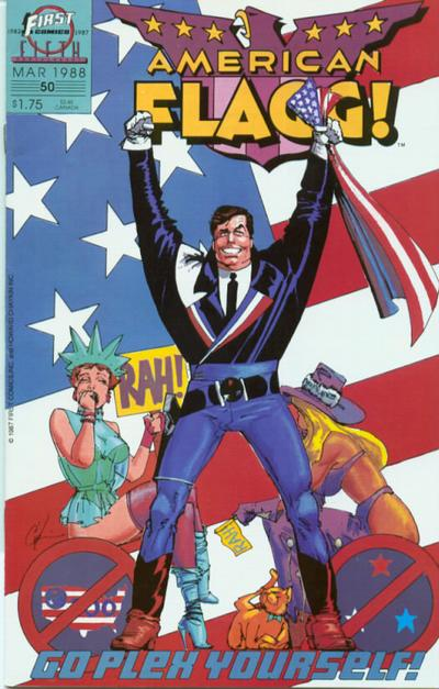 American Flagg Vol 1 50