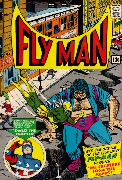 Fly Man Vol 1 34