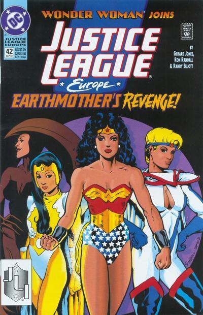 Justice League Europe Vol 1 42