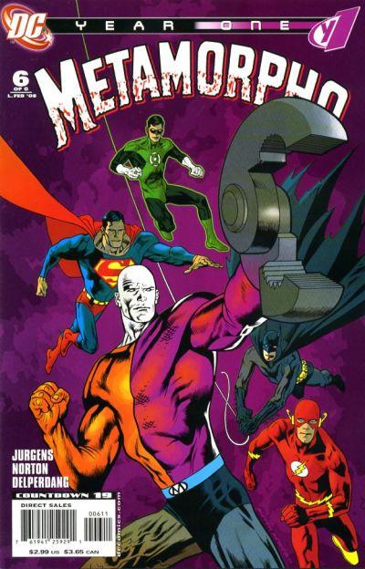 Metamorpho: Year One Vol 1 6