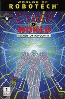 Robotech Cyber World Secrets of Haydon IV Vol 1 1