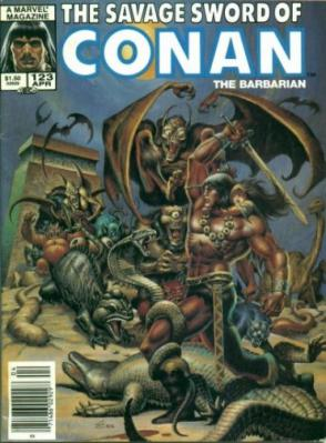 Savage Sword of Conan Vol 1 123