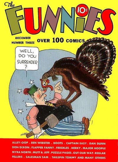 The Funnies Vol 2 3