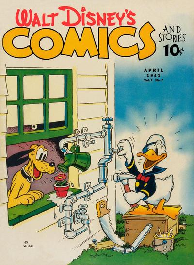Walt Disney's Comics and Stories Vol 1 7