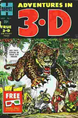 Adventures in 3-D Vol 1