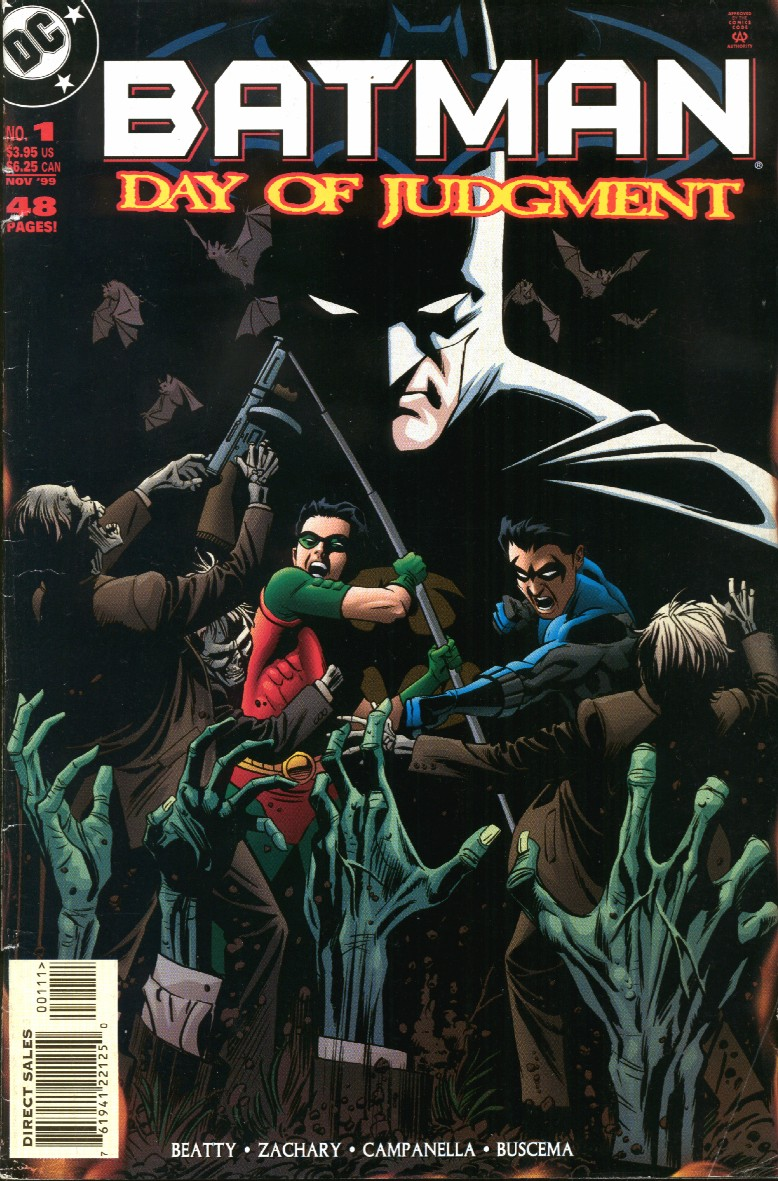 Batman: Day of Judgment Vol 1 1