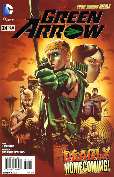 Green Arrow Vol 5 24