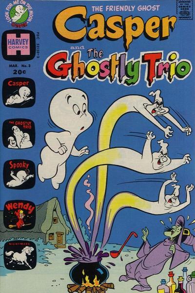Casper and The Ghostly Trio Vol 1 3