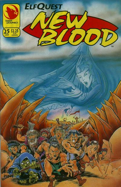 Elfquest: New Blood Vol 1
