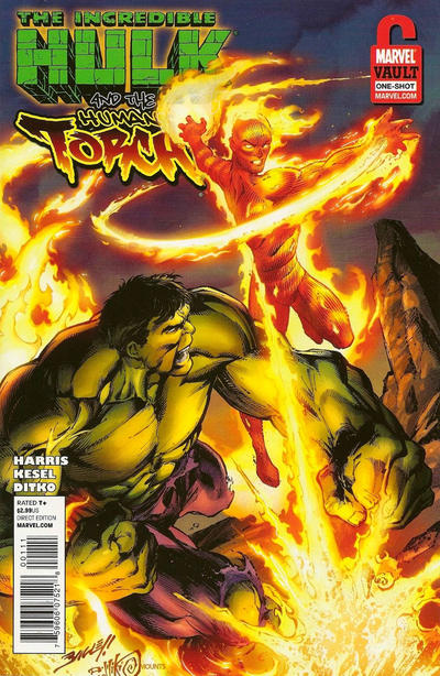 Incredible Hulk & the Human Torch: From the Marvel Vault Vol 1 1