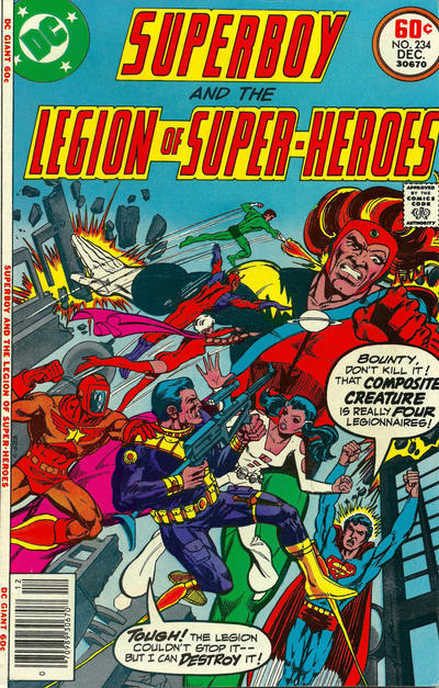 Superboy and the Legion of Super-Heroes Vol 1 234