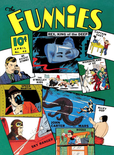 The Funnies Vol 2 42