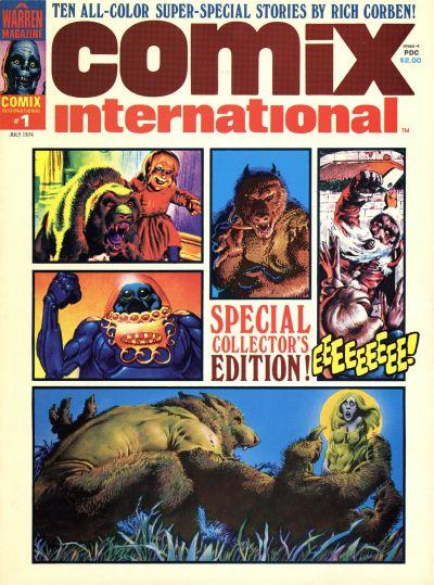 Comix International Vol 1 1