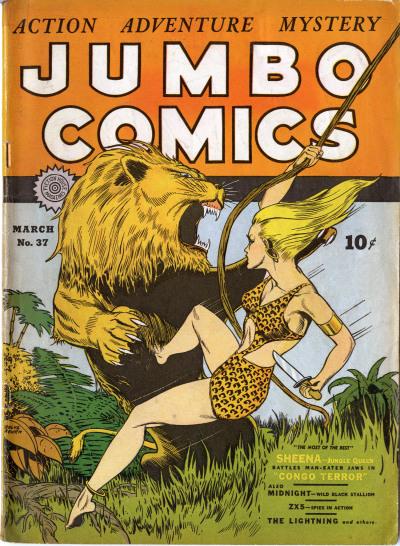 Jumbo Comics Vol 1 37