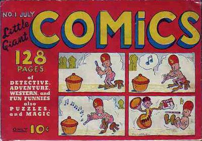 Little Giant Comics Vol 1