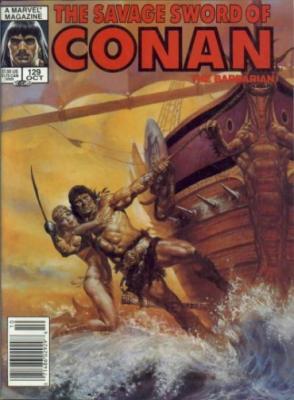 Savage Sword of Conan Vol 1 129