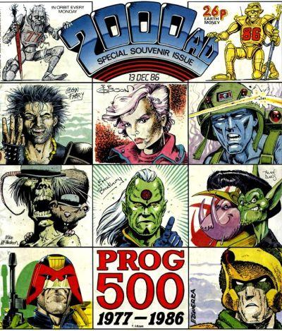 2000 AD Vol 1 500