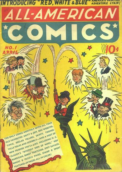 All-American Comics/Covers