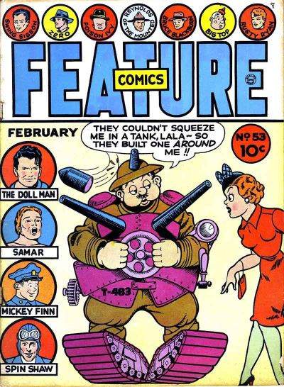 Feature Comics Vol 1 53