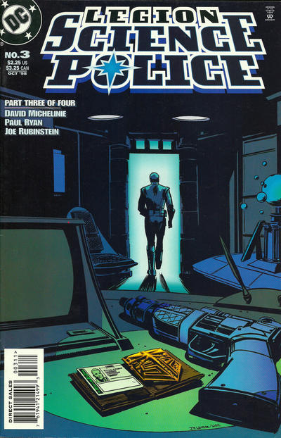 Legion: Science Police Vol 1 3
