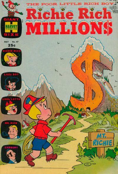 Richie Rich Millions Vol 1 47