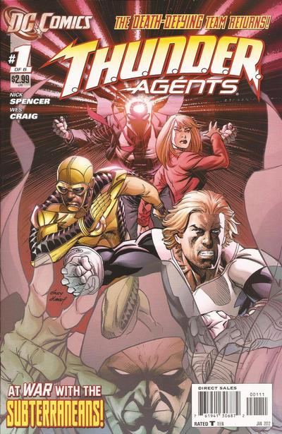T.H.U.N.D.E.R. Agents Vol 4 1