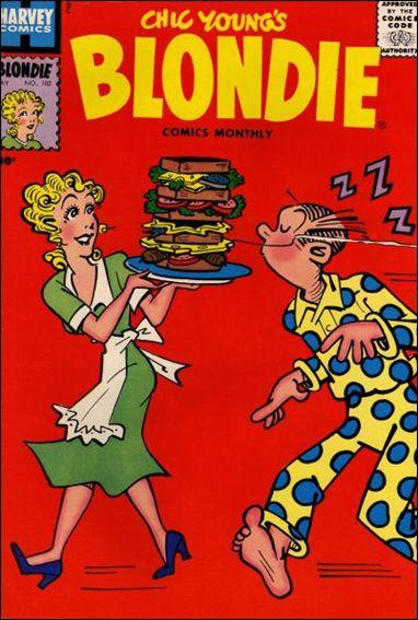 Blondie Comics Vol 1 102