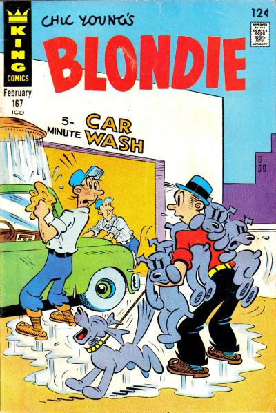 Blondie Comics Vol 1 167
