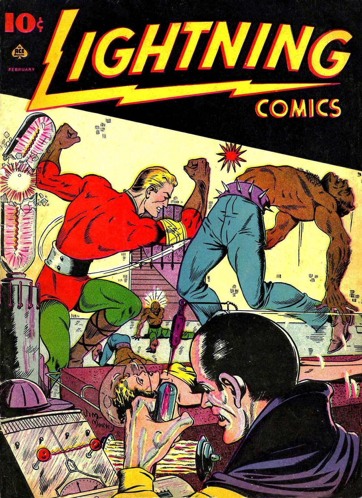 Lightning Comics Vol II 5