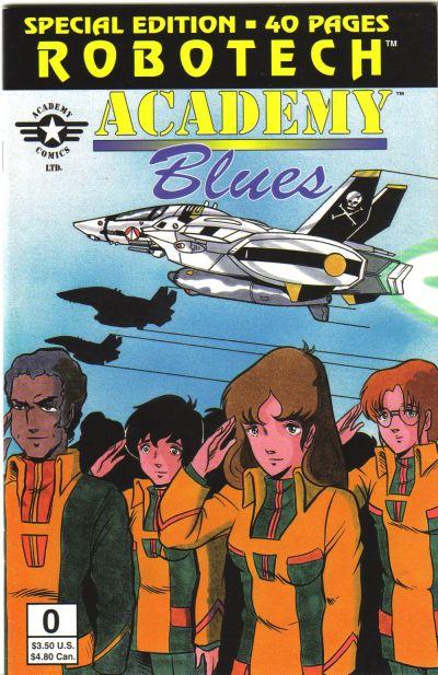 Robotech: Academy Blues Vol 1 0