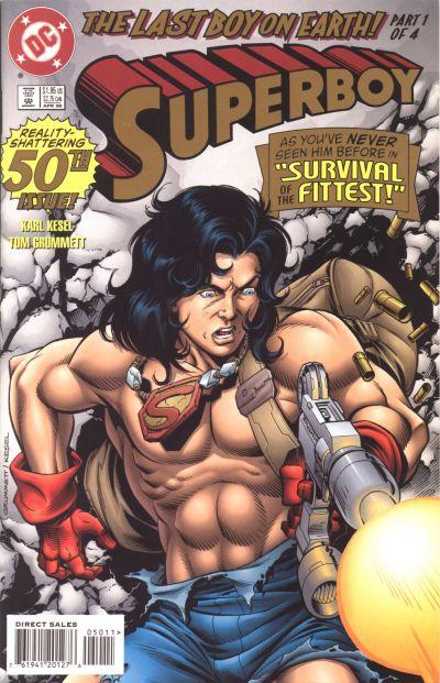 Superboy: The Last Boy on Earth/Gallery