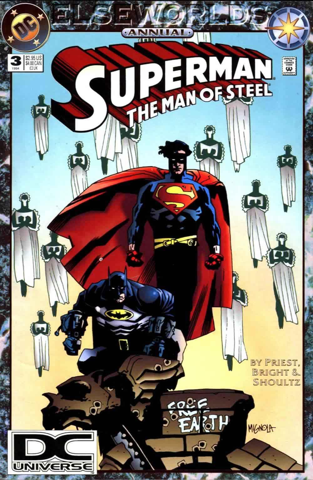 Superman: Man of Steel Annual Vol 1 3