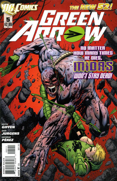 Green Arrow Vol 5 5